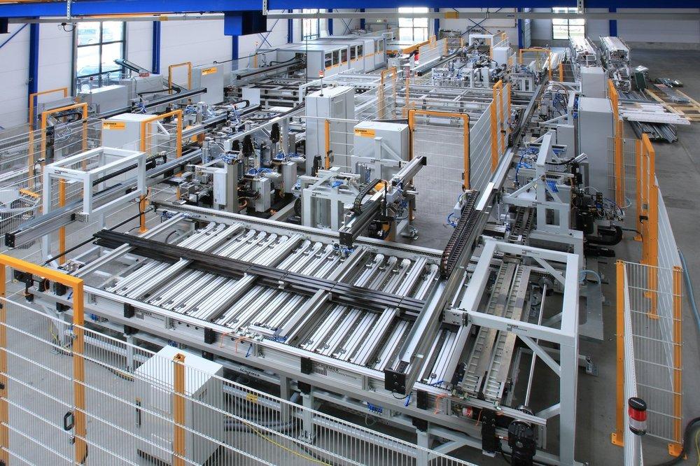 linie do produkcji okien pcv